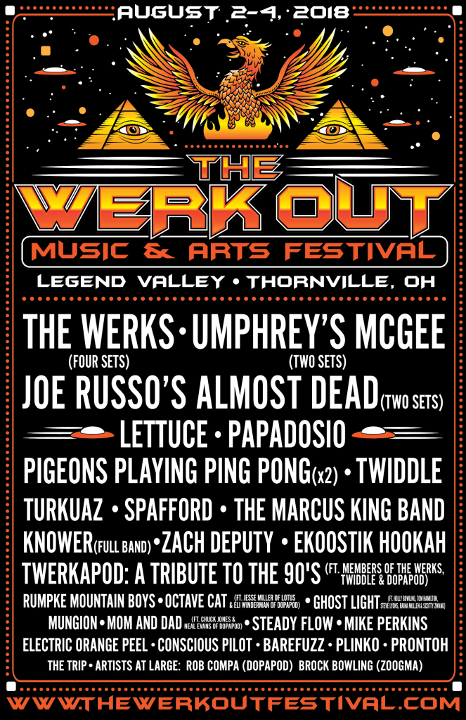 The Werk Out Lineup 2018